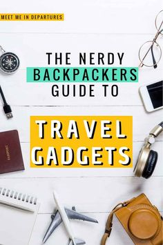 Going travelling? Then be sure to check out these MUST-HAVE travel gadgets for backpackers or travellers. Check out some of these cool travel gadgets. These are some of the best travel accessories and best travel gadgets for travel. Including tons of fun travel accessories, travel electronics and ways to help you travel smart. #backpackinghacks #travelhacks #travelgadgets #travelgear #traveltech