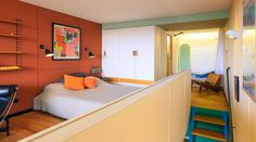 Apartment in Le Corbusier's Unité d'Habitation Renovated to Original Design by Philipp Mohr,© Didier Gaillard- Hohlweg