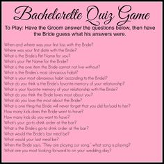 Bachelorette Party Pinterest Quiz Jpg