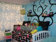 Blue Paint Girls Room Ideas Design