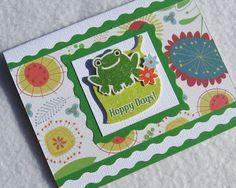 Hoppy Days Handmade Card