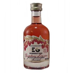 Edinburgh Gin Raspberry Liqueur Miniature bottle available to buy online at specialist whisky shop whiskys.co.uk Stamford Bridge York