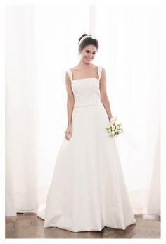 Un fresco abito da sposa in stile 'Anni 50'