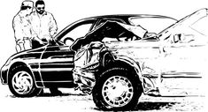 English vocabulary lesson with printable lesson and audio - In this lesson I will describe the accident and some relevant vocabulary. Do you think you could have handled a similar situation in English? Can you describe your last car accident – or one you heard about from friends or family – in English? What happened? Who caused the accident? Were there any injuries?