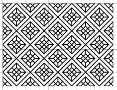 Blackwork Simple Fill Pattern