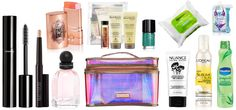 Your ultimate Spring Break beauty kit is here: all the hair, makeup, skin, and nail goodies to pack for your sunny weather getaway!
