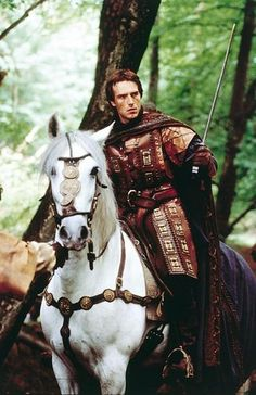 because it's a guy in medieval garb, with a sword, on a horse - i must pin. <---- repinning for this comment.