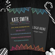 Vertical Lularoe Business Cards Free Fast Personalization Home