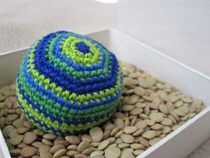 Hacky sack - free crochet pattern on Ravelry