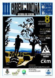 Trail Montaña: Carrera Chiva 2012. 8DIC (61K/D+3.000m) Recorrido, entrenamiento trail y material, por Iván Palero.