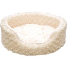 PAW Snuggle Round Comfy Fur Pet Bed Small Cream * Check out this great product. (Note:Amazon affiliate link)