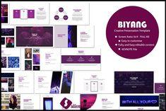 Biyang Creative Keynote by Slientslide on @creativemarket