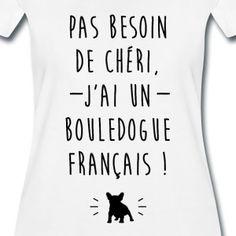 Jai un bouledogue français