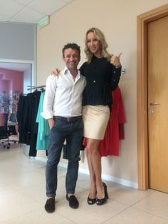 Fitting Collection Mauro Franchi SS 2014 con Lenka Nemcova