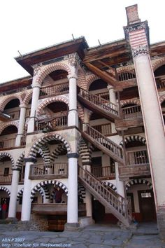 Rila Monastery (Rila Mountains/ Bulgaria): http://curious-places.blogspot.co.nz/2011/03/rila-monastery-rila-mountains-bulgaria.html