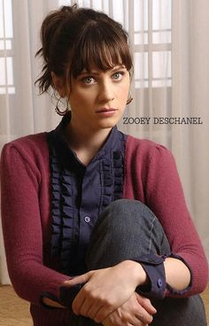 Zooey Deschanel Sophisticated Portrait 11x17 Poster