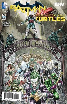 Batman Teenage Mutant Ninja Turtles #5 (Of 6) DC Comics (2016)