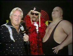 Bobby Heenan, King Kong Bundy and Jesse Ventura