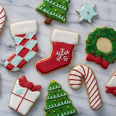 Sugar Cookie Cut-Outs | Buttery soft sugar cookies - a holiday classic! The perfect cookie to decorate! Cut into fun shapes and top with icing and sprinkles! IncredibleEgg.org/Recipes #cookieexchange