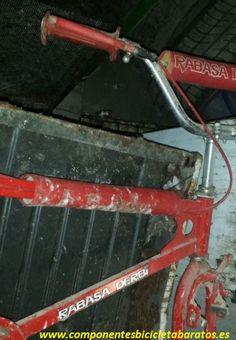 Bicicleta BMX Derbi Rabasa siguiente en restauración. No paramos. Propiedad de Componentes Bicicleta Baratos en Zaragoza