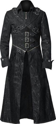 Buckle Trench Coat -