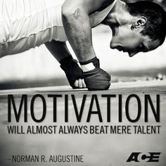 Motivation will almost always beat mere talent. So stay motivated! #bcc #motivation #quote