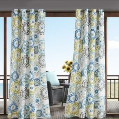 Found it at Wayfair - Manchester Outdoor Single Curtain Panel