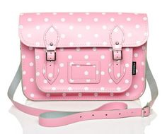 Ten Super Cute Satchels to Tote  Handmade leather satchel | Pink Polka Dots