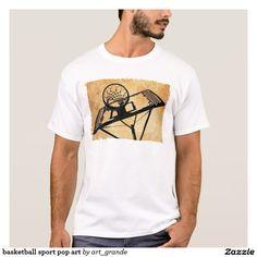 basketball sport pop art T-Shirt