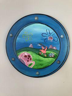 Spongebob Porthole Painting