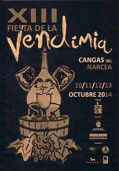 XIII Fiesta de la Vendimia #VinodeCangas #Asturias