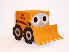 Free downloadable templates for making paper animals and vehicles