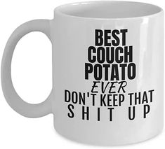 Online shopping from a great selection at Home & Kitchen Store. Cool Couches, Diy Sharpie Mug, Kitchen Store, Gag Gifts, Home Kitchens, Online Shopping, Mugs, Amazon, Tableware