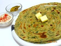 Methi Laccha Paratha(wheat)-Healthy Lunch Box Recipe for Indian Kids-Methi Ajwain Lachcha Parantha - YouTube