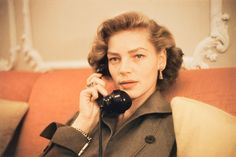 Bacall by Ruth Orkin.