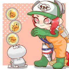 Splatoon Switch, Splatoon 2 Art, Splatoon Comics, Splat Tim, Weird Fish, Cute Kawaii Drawings, Slayer Anime, Video Game Art, Character Design Inspiration
