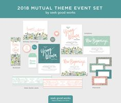 2018 LDS Mutual Theme - Peace in Christ - Special Events - Young Women