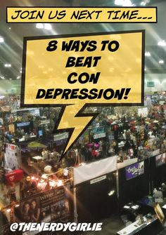 The Nerdy Girlie: 8 Ways to Combat San Diego Comic Con Depression. #SDCC Tips