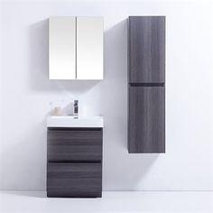 Golden Elite BR24GO Brunswick 24-in Bathroom Vanity Set