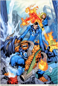 Fantastic Four by Carlos Pacheco