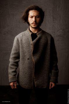 Купить Мужская Монголка - странник, мужчина, путешественник, готовая работа, мужская одежда, дизайнерская одежда