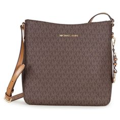 Michael Kors Jet Set Travel Logo Crossbody Handbag