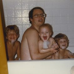 Fathers & Sons: Birthday suits.