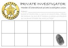 Thème de classe : Private Insvestigator / Détective