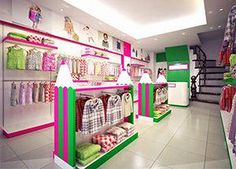 185587e8481c8 12 Best children clothing store design images | Clothing store ...