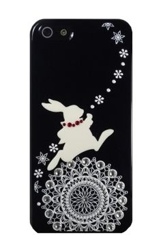 Black Rabbit and White Lace for iPhone5