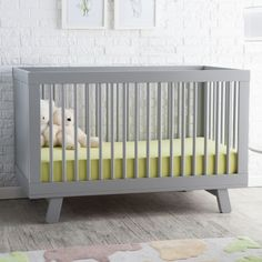 Babyletto Hudson 3 in 1 Convertible Crib Collection - Baby Cribs at Hayneedle