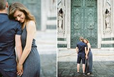 Fine art wedding photographer in Italy Darya Kamalova | SASHAandSASHA FILM COUPLE SESSION IN FLORENCE | http://www.thecablookfotolab.com