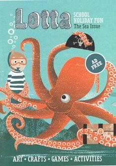 Lotta Magazine - Kate McLelland Illustration