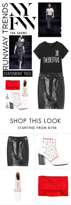 """""""Hottest NYFW Runway Trend"""" by shortyluv718 ❤ liked on Polyvore featuring Versace, Toga, Esin Akan, Kothari, NYFW, contestentry and polyvorecontest"""